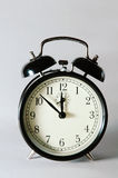 Reloj de alarma retro Imagenes de archivo