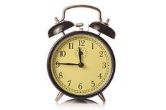 Reloj de alarma retro Imagen de archivo libre de regalías