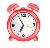 Reloj de alarma, vector Fotos de archivo