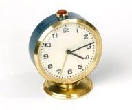 Reloj de alarma viejo Imagen de archivo libre de regalías