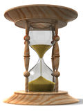 Reloj de arena. 3d Fotos de archivo libres de regalías