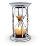 Reloj de arena del vintage Imagen de archivo libre de regalías
