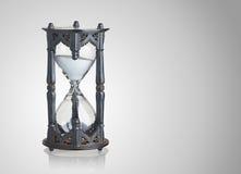 Reloj de arena del vintage Fotografía de archivo
