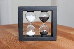 Reloj de arena doble foto de archivo