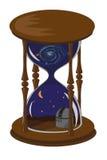Reloj de arena inusual Imagen de archivo libre de regalías