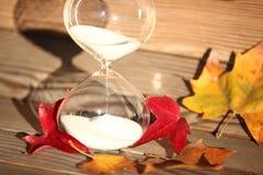 Reloj de arena moderno Símbolo del tiempo countdown Fotografía de archivo libre de regalías