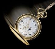 Reloj de balanceo del posket Fotografía de archivo libre de regalías