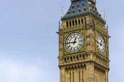Reloj de Ben grande en Londres Fotografía de archivo