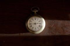 Reloj de bolsillo. Fotografía de archivo