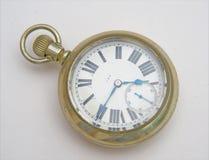 Reloj de bolsillo americano antiguo. Fotografía de archivo