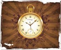 Reloj de bolsillo antiguo Imagen de archivo