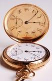 Reloj de bolsillo antiguo Foto de archivo