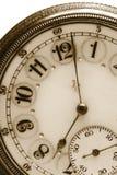 Reloj de bolsillo antiguo Fotografía de archivo