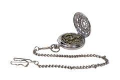 Reloj de bolsillo del astrolabio Imágenes de archivo libres de regalías