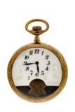 Reloj de bolsillo del vintage Imagen de archivo