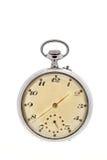 Reloj de bolsillo del vintage Fotografía de archivo