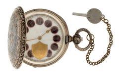 Reloj de bolsillo del vintage Imagen de archivo libre de regalías