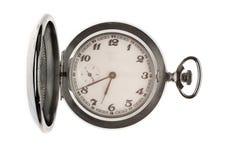 Reloj de bolsillo del vintage Foto de archivo libre de regalías