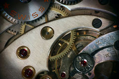 Reloj de bolsillo dentro Imagen de archivo libre de regalías