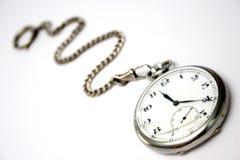 Reloj de bolsillo roto fotografía de archivo libre de regalías