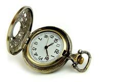 Reloj de bolsillo viejo Fotografía de archivo