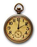 Reloj de bolsillo viejo Imagen de archivo libre de regalías