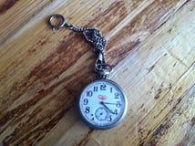 Reloj de bolsillo viejo Fotos de archivo