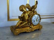 Reloj de bronce antiguo Foto de archivo