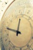 Reloj de Cassic con el indicador móvil fotos de archivo