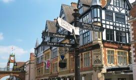 Reloj de Chester Eastgate fotografía de archivo