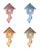 Reloj de cuco Foto de archivo libre de regalías