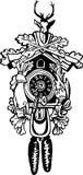 Reloj de cuco de la caza Imagen de archivo libre de regalías