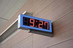 Reloj de Digitaces Foto de archivo libre de regalías