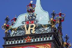 Reloj de Eastgate en Chester Imagen de archivo libre de regalías