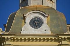 Reloj de la aguja Foto de archivo