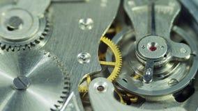 Reloj de la antigüedad del vintage del mecanismo Fotografía de archivo libre de regalías