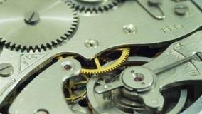 Reloj de la antigüedad del vintage del mecanismo Foto de archivo libre de regalías