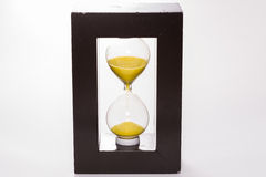 Reloj de la arena Foto de archivo libre de regalías