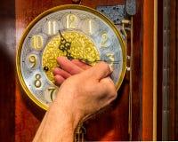 Reloj de la bobina Imágenes de archivo libres de regalías