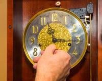 Reloj de la bobina Fotos de archivo