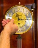 Reloj de la bobina Imagen de archivo