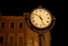 Reloj de la calle Foto de archivo libre de regalías