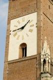 Reloj de la catedral de Monza Fotos de archivo libres de regalías