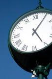 Reloj de la ciudad de la vendimia foto de archivo libre de regalías
