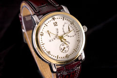 Reloj de la cronografía Imagenes de archivo