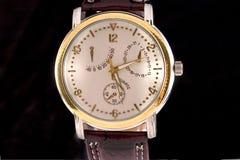 Reloj de la cronografía Imágenes de archivo libres de regalías