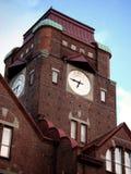 Reloj de la escuela fotos de archivo