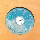 Reloj de la estación de tren de Hilversum, Países Bajos Fotografía de archivo