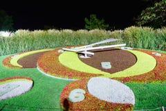 Reloj de la flor de Ginebra Imagen de archivo libre de regalías