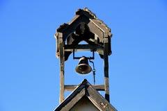 Reloj de la iglesia Foto de archivo libre de regalías